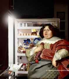 Surrealist Collage, Collage Art, Collages, Rennaissance Art, Art History Memes, Classical Art Memes, Art Jokes, Alternative Art, Human Art