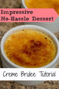 Crème Brûlée - my absolute favorite dessert. One day, I'll be bold enough to make this myself