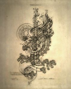 Louis Sullivan (American, 1856-1924)  System of Architectural Ornament, 1922  Fantasy: A Study of Curves in Three  Impromptu