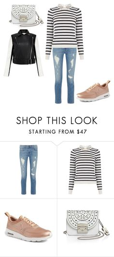 """""""Untitled #23834"""" by edasn12 ❤ liked on Polyvore featuring rag & bone, Oasis, NIKE, Furla and Helmut Lang"""