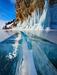 Blue Eye of Siberia, Lake Baikal