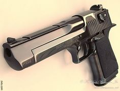 50 calibre Desert Eagle disparo arriba y listo para funcionar: Jennings recauda fondos con tiroteo