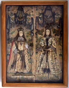 A century needlework and stumpwork sampler of : Lot 294 Textile Tapestry, Tapestries, Casket, 17th Century, Beadwork, Mirrors, United Kingdom, Needlework, Weaving