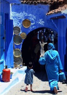 """Blue city"" photo by Damienne Bingham"
