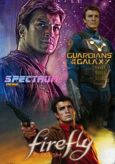 NF - Spectrum - Firefly - Guardians Of The Galaxy Firefly Quotes, Nathan Fillon, Castle Abc, Man Alive, Guardians Of The Galaxy, Spectrum, Sexy Men, Movie Posters, Entertaining