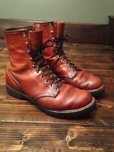 Vintage (1970's) Red Wing Irish Setter 899 Boot men sz 10 Logger Exc Condition #RedWing #HikingTrail