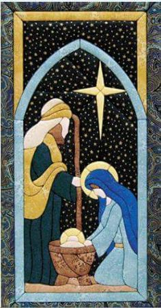 My favorite source for arts and crafts: Nativity Scene Quilt Magic Kit MARY MAXIM Christmas Applique, Christmas Banners, Christmas Sewing, Felt Christmas, Christmas Projects, Christmas Holidays, Christmas Christmas, Hanging Quilts, Quilted Wall Hangings