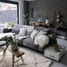 "Masculine living rooms to pin right now! Masculine living rooms to pin right now! jiri tschechesura ChatyDomySruby When I say ""masculine"" I don't mean you have to […] Living Room Masculine Living Rooms, Dark Living Rooms, Living Room Interior, Home And Living, Modern Living, Interior Livingroom, Masculine Home Decor, Hall Interior, Modern Interior"