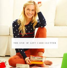 the end of gift cards and gift certificates turning into clutter! This post has all the tips on how to do it.