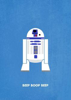 Star Wars minimalism