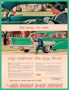 """The Air Born B-58 Buick"""