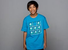 J!NX : Minecraft Diamond Crafting Youth Tee - Clothing Inspired by Video Games & Geek Culture