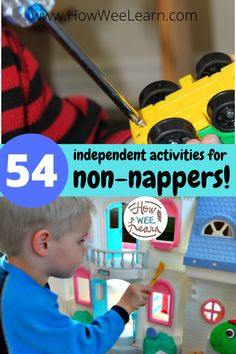 54 Amazing and simple ideas for quiet time activities for 3 year olds. Extend nap time a little longer with these quiet activities - and they are mess free! Quiet Time Activities, Activities For 2 Year Olds, Pre K Activities, Toddler Learning Activities, Infant Activities, Teaching Kids, Busy Bags, Diy Things, Play Ideas