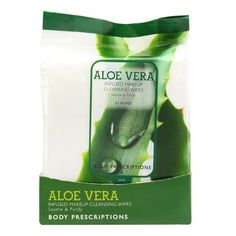 Aloe Vera Infused Makeup Cleansing Wipes, 33 Count by Body Prescriptions.   Click on Image for more information. Exfoliating Scrub, Skin Care Treatments, Anti Aging Cream, Face Wash, Beauty Routines, Aloe Vera, Cleanser, Count, Amazon