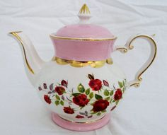 178 best images about Gibson Teapots on Pinterest | Blue gold ...