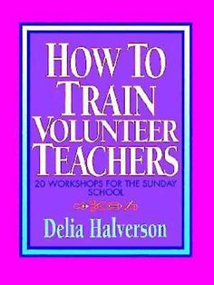 Explores the purposes of teaching in the church, and offers specific advice on how to recruit, train, and support volunteer teachers. 20 workshops to enhance and empower educational programs in any ch