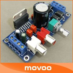 5 PCS/LOT Power Amplifiers 2 Channel 2x20W Tone Control Module TDA7377 10~12 VAC 12~15 VDC Audio stereo AMP DIY #090162-in Amplifier from Consumer Electronics on Aliexpress.com