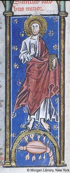 Psalter-Hours, MS M.94 fol. 3v - Images from Medieval and Renaissance Manuscripts - The Morgan Library & Museum