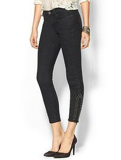 Current/Elliott The Zip Cropped Stiletto | Piperlime