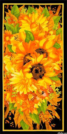 Fabric panel Sunflower Joy