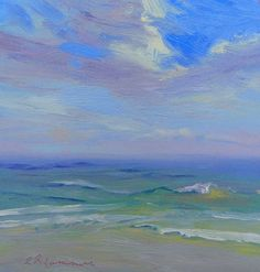 October 22, 2012 Day Two of the Cape Canaveral Seashore Paintout! Sold 2~ | Plein Aire in Maine
