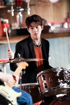 Check out @ Iomoio Bad Songs, Day6 Dowoon, Kim Wonpil, Young K, Pop Rock, Korean Bands, Bias Wrecker, Rock Bands, Korea