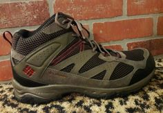 Mens Columbia Mid Multi Sport Techlite Omni Grip Trail Hiking Boots Shoes 13 W #Columbia #HikingTrail
