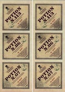 Etiquettes_potions-Harry Potter