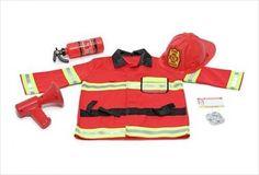 Un déguisement de pompier et toute la panoplie qui va avec - 22,89 € http://www.apesanteur.com/deguisement-de-pompier-3-6-ans.html