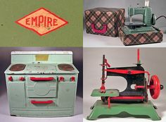 Cute vintage toys from Hutch Studio