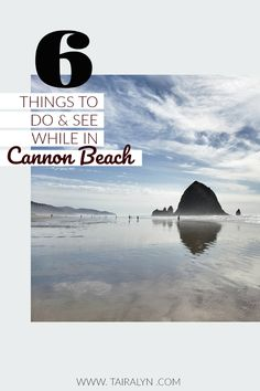 6 things you must see in Cannon Beach! Family Vacation Spots, Need A Vacation, Family Travel, Beach Fun, Beach Trip, Where Do I Go, Cannon Beach, Oregon Coast, Wanderlust Travel