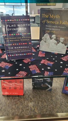 Bellevue University, Seneca Falls, National Symbols, Library Displays, Display Case, Bestselling Author, Geography, Prison, Politics