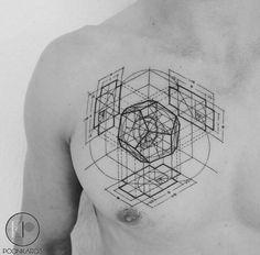 Fibonacci Dodacaedron tattoo.                              …