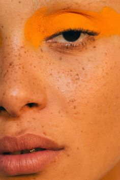 This color is my mood for the month | Adwoa Aboah backstage at Versus Verace Spring 2017 shot by the unbeatable Driely S. #toomuchgoodinonephoto #everythingaboutthisshowwasfire