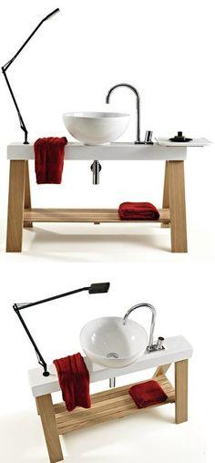 Ceramic washbasin IL CAVALLETTO by ArtCeram | #design MENEGHELLO PAOLELLI ASSOCIATI #bathroom