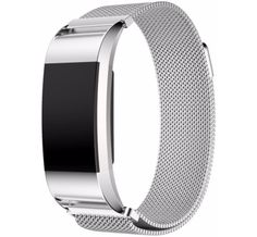 Fitbit Charge 2 Milanees Watchband Silve - 1