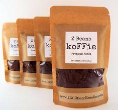 Coffee gift box, Coffee snob, Ground coffee, Whole bean coffee, Gourmet coffee, Roasted coffee beans, Unique coffee gift, Coffee gift basket