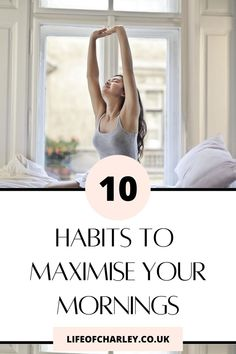 Today I'm sharing 10 healthy habits to become a successful person! Try these early morning habits to have a productive. #productivity #mornings Your Best Life Now, Life Is Good, Mind Thoughts, Habits Of Successful People, Night Time Routine, Morning Habits, Productive Day, Positive Mindset, Early Morning
