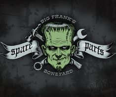 This is my place for Rat Fink, Roth Art and others that are Roth like. Any Rat Rod style art as well Frankenstein Pictures, Bride Of Frankenstein, Horror Art, Horror Movies, Horror Icons, Cult Movies, Zombie Art, Frankenstein's Monster, Classic Monsters