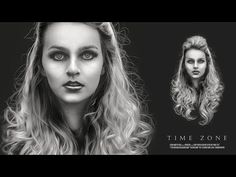Portrait Photo Effects | Photoshop Tutorial | Movie Poster Design - YouTube
