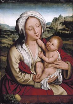 Quentin Massys (1466-1530): Madonna and Child (1525)