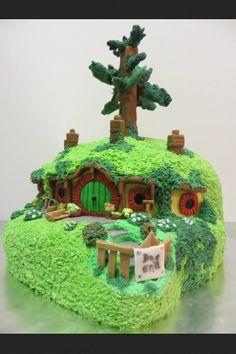 Hobbit Cake on Pinterest Madagascar Cake, Allotment Cake ...