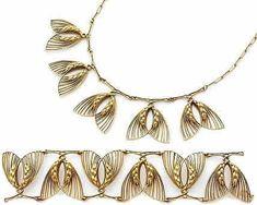 Lalique Necklace Epis De Ble Et Volutes