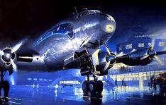 Lockheed Constellation (Air France) in La Guardia par Lucio Perinotto | Flickr - Photo Sharing!