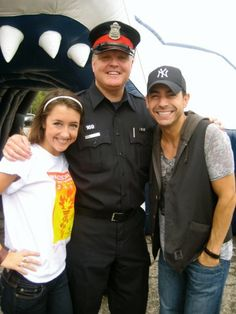 Meeting the police force!