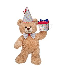 Shop, Explore and Play at Build-A-Bear® Birthday Party Themes, 2nd Birthday, Happy Birthday Teddy Bear, Custom Teddy Bear, Build A Bear Outfits, Online Gift Shop, Cute Teddy Bears, Halloween Birthday, Toy Boxes