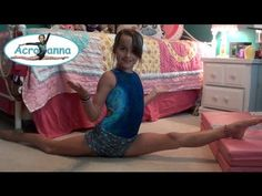 ▶ How to do the Splits | Tutorial | Acroanna - YouTube