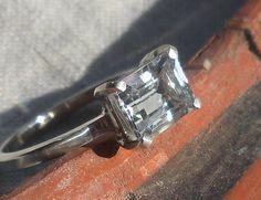 $148 Aquamarine Ring