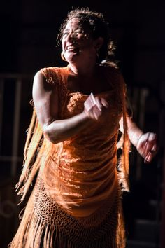 Anita la Maltesa at La Peña Flamenca de Londres.
