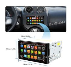 """[Visit to Buy] 7""""Android 4.4 4 Core Car Audio GPS Navigation 2Din Car Stereo Radio Universal Car Video Player Support OBD DVR 800*480 1G RAM #Advertisement"""